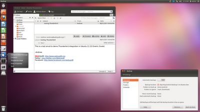 Ubuntu 11.10 Oneiric ocelot new default apps